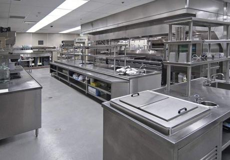 重庆某酒店厨房设备案例展示