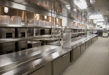 酒店商用厨房设备案例展示
