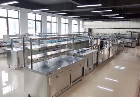 重庆食堂厨房设备案例