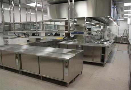 学校食堂厨房设备案例展示