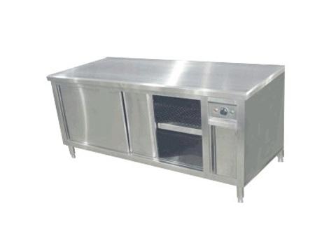 暖碟工作台
