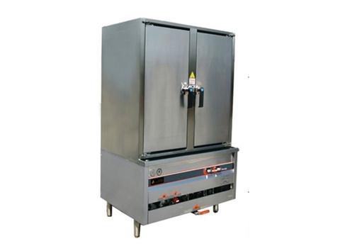 KC012燃气双门蒸饭柜