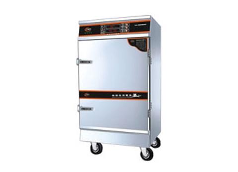 KC013燃气十二盘电气蒸饭柜