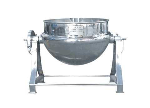 可倾式蒸汽夹层锅